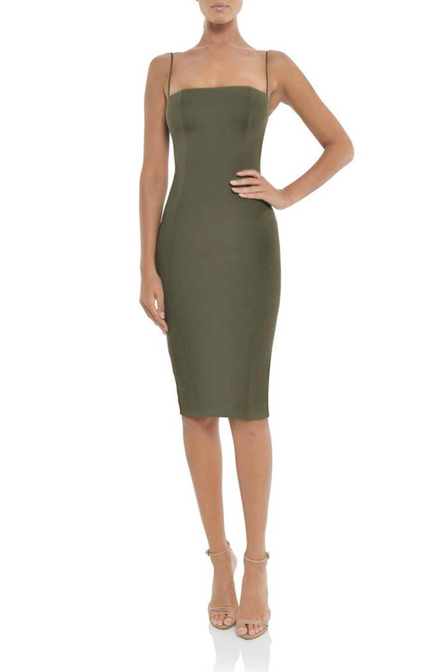Sophie Dress in Khaki