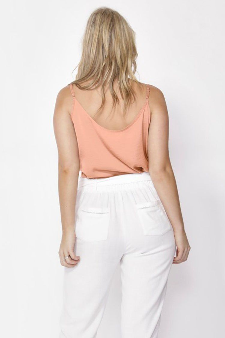 Million Reasons Camisole in Peach