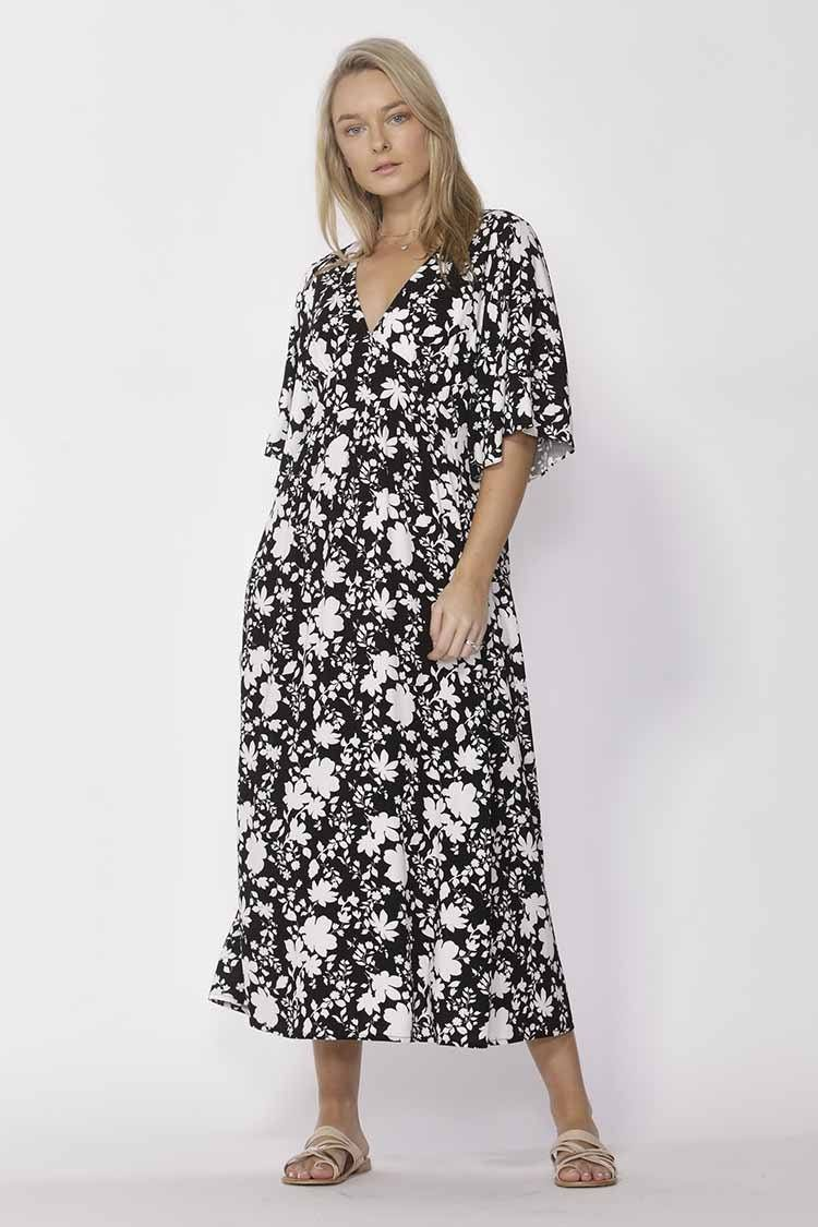 Moonrise Dress in Florence Print