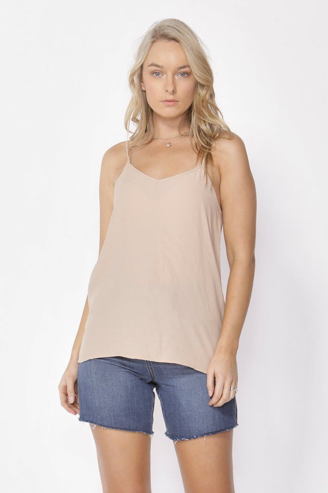 Song of Summer Camisole in Biscuit
