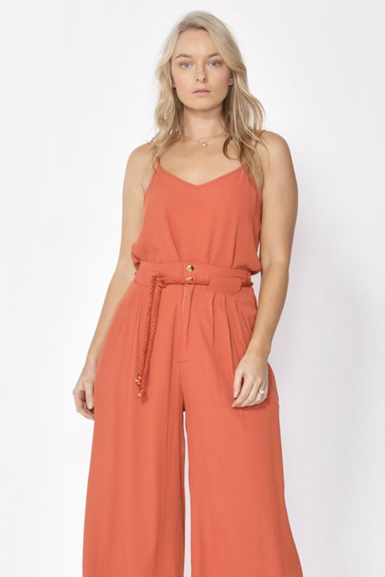 Song of Summer Camisole in Rust