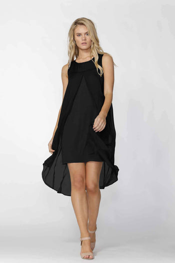 Aliza Dress in Black