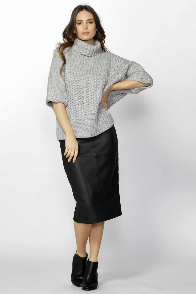 Shop Online Bette High Neck Knit Top by Fate + Becker  Frockaholics Tops