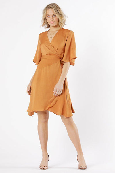 Mariella Wrap Dress Dresses Fate + Becker