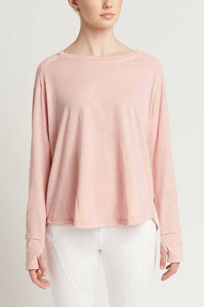 Fia Tee in Dusty Pink Tops Milson