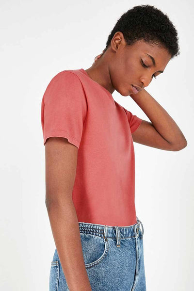 Fizvalley T-Shirt in Vintage Lychee Tops American Vintage