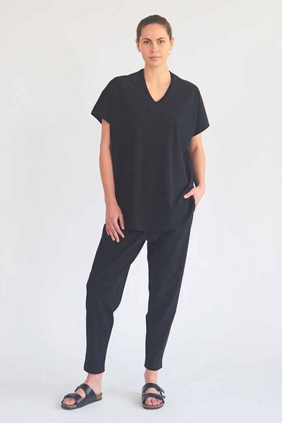 Floating Shell in Black Tops Mela Purdie