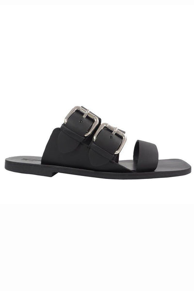 Foster Slide in Black | FINAL SALE Shoes Sol Sana
