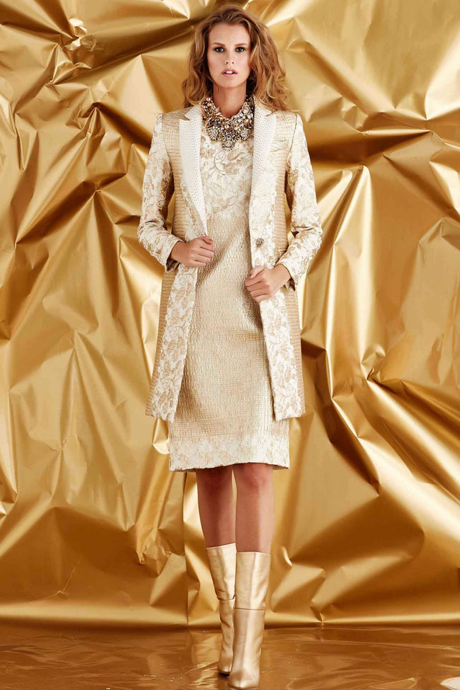 Coat of Confidence in Gold Highlight