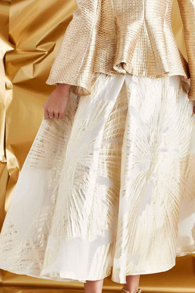Love Skirts in Gold Light of Day