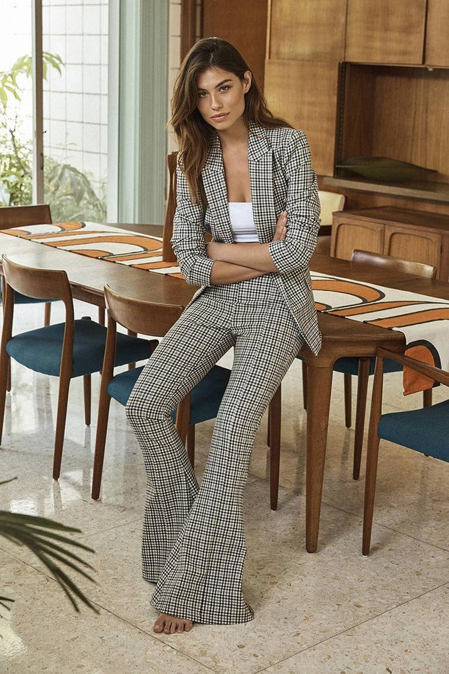 Gingham Girl Blazer