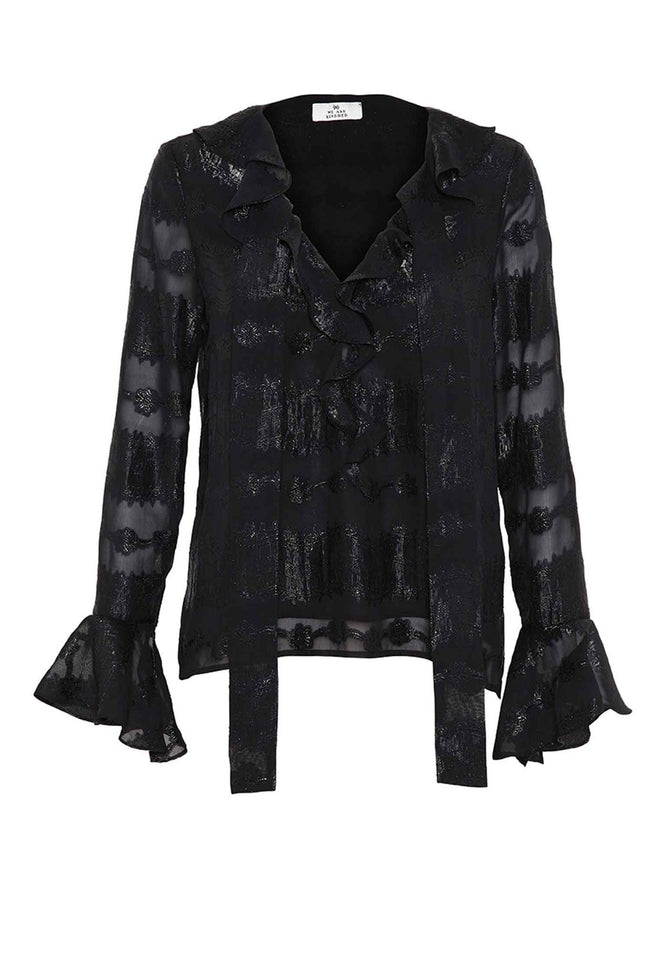 The Hannah Lurex Blouse by We are Kindred