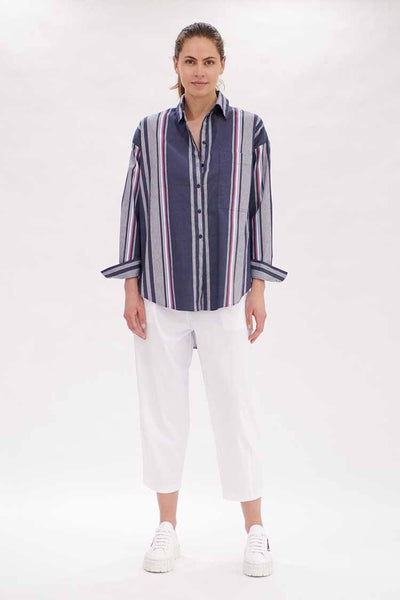 Hero Shirt in Trinity Stripe Tops Mela Purdie