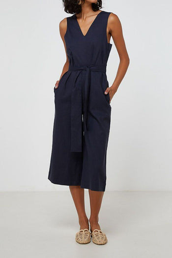 Delilah Jumpsuit in Navy