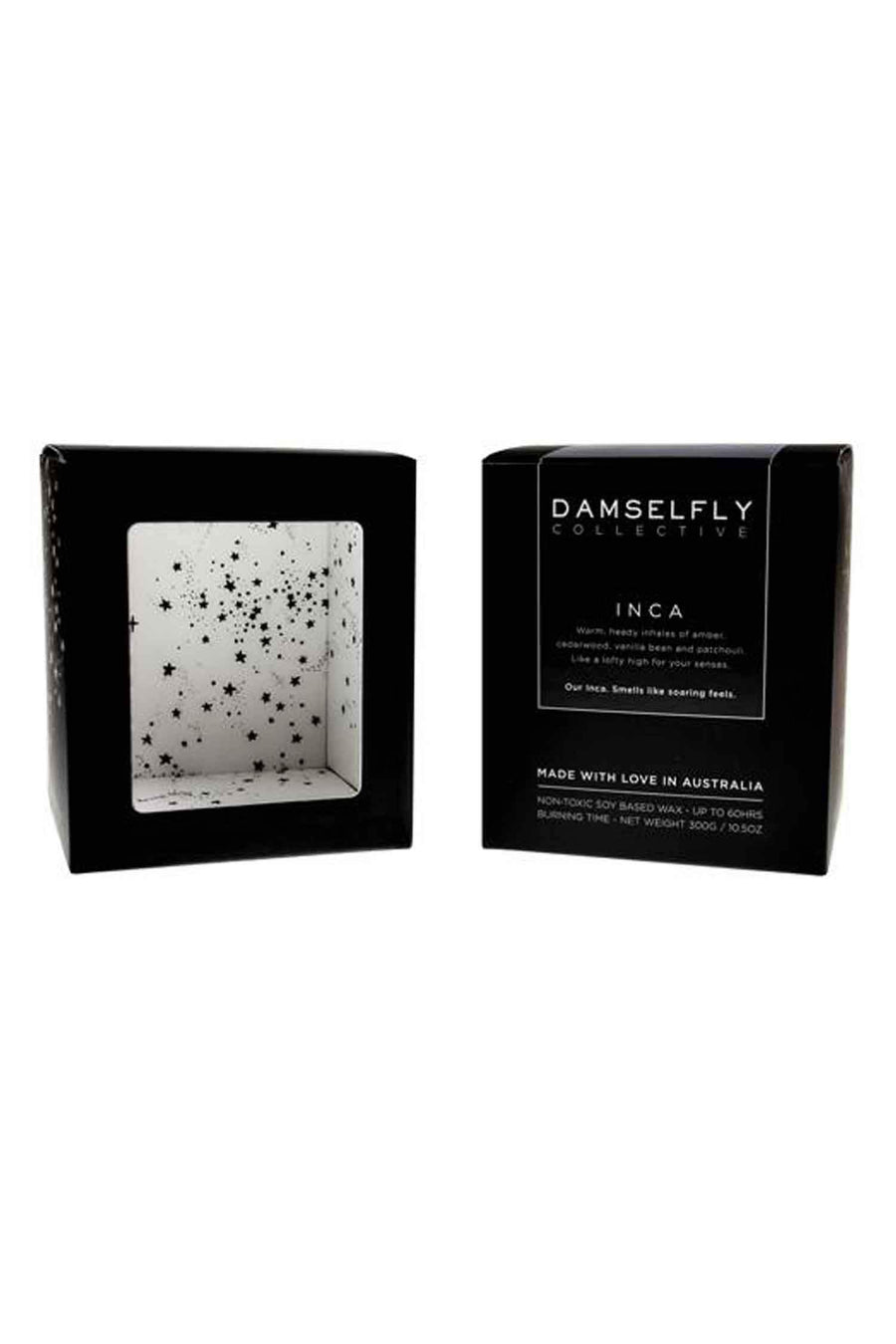 Shop Online Wears Black, Avoids People Candle by Damselfly  Frockaholics Accessories