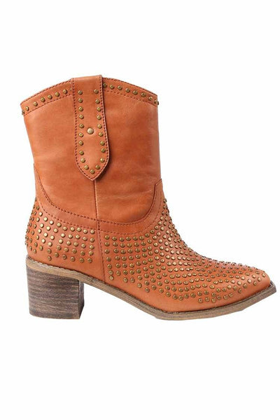 Idan Boots in Cognac Shoes Django & Juliette