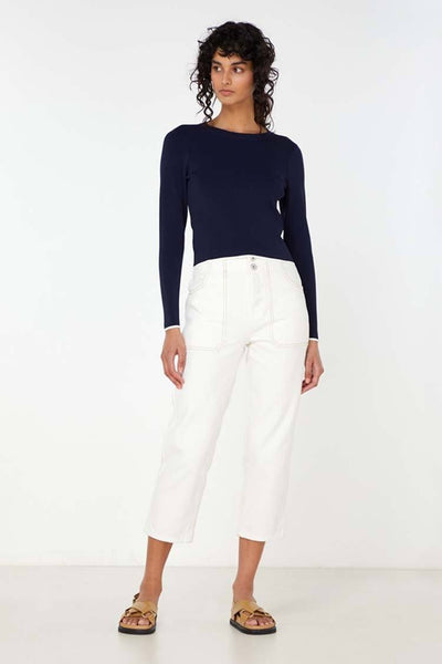 Imani Knit Top Tops Elka Collective