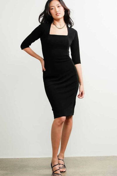 Iris 3/4 Sleeve Dress Dresses Sacha Drake