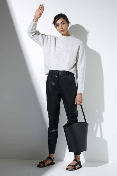 Iris Pant in Black Bottoms Elka Collective