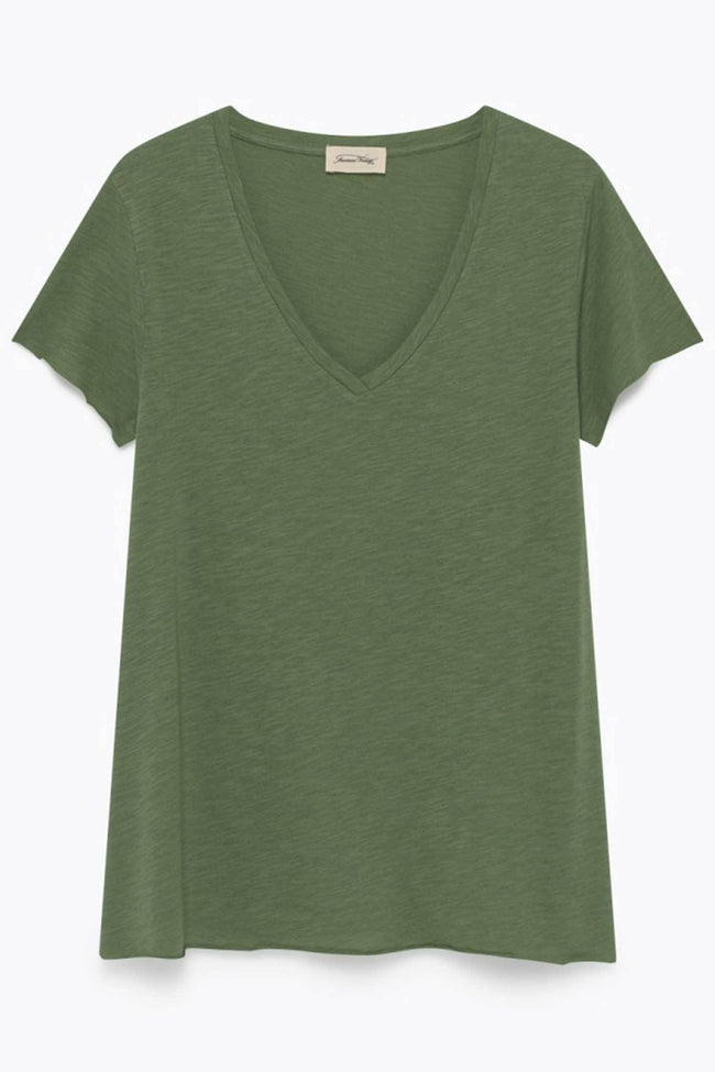 Shop Online Jacksonville Short Sleeve Tee in Lizard by American Vintage  Frockaholics Tops