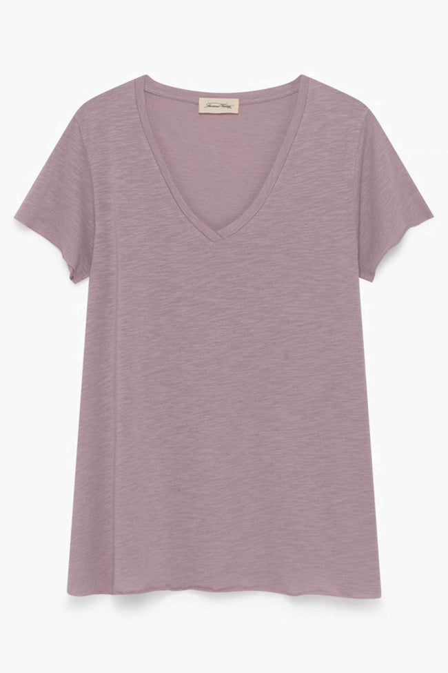 Shop Online Jacksonville Short Sleeve Tee in Mauve by American Vintage  Frockaholics Tops