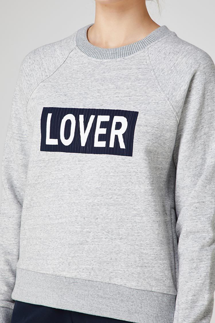 Lover Crew in Grey Marle