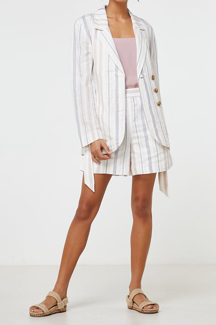 Lea Blazer in Stripe | FINAL SALE