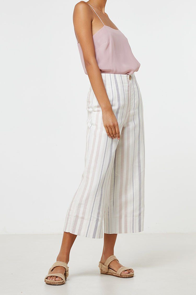 Lea Pant in Stripe | FINAL SALE