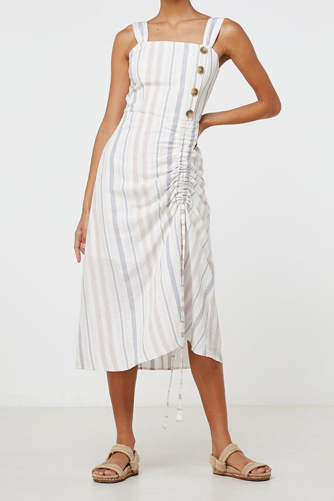Lea Dress in Stripe