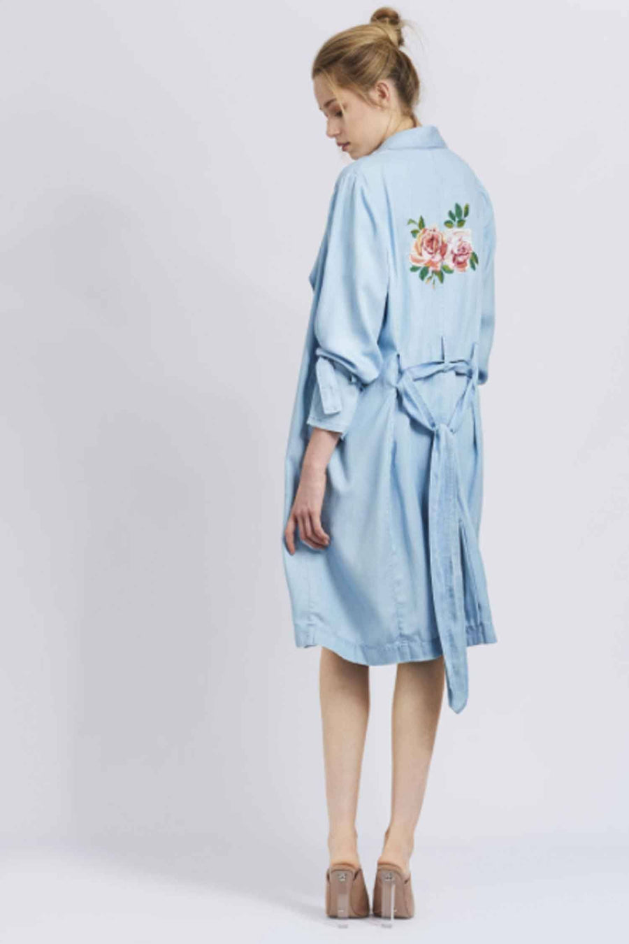 Austen Girl Trench by We Are Kindred Frockaholics.com