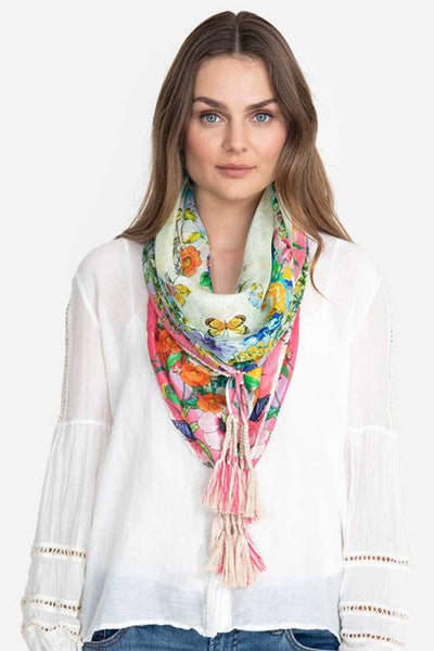 Kalila Scarf in Silk Accessories Johnny Was
