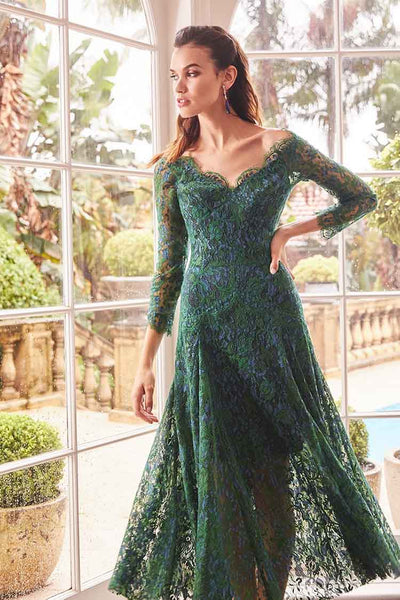 Kathleen Dress in Emerald Dresses Moss & Spy