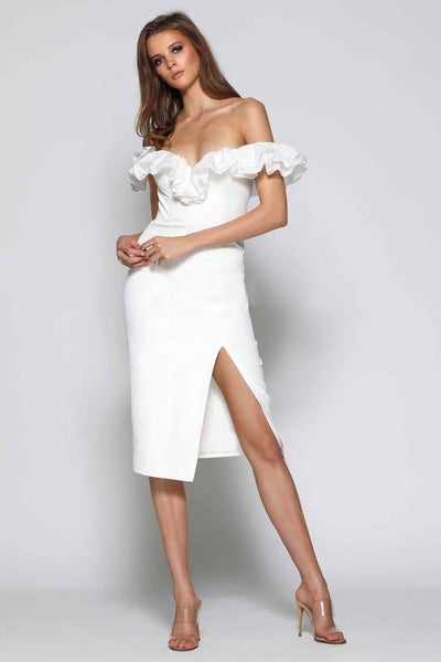 Kennedy in White Dresses Elle Zeitoune