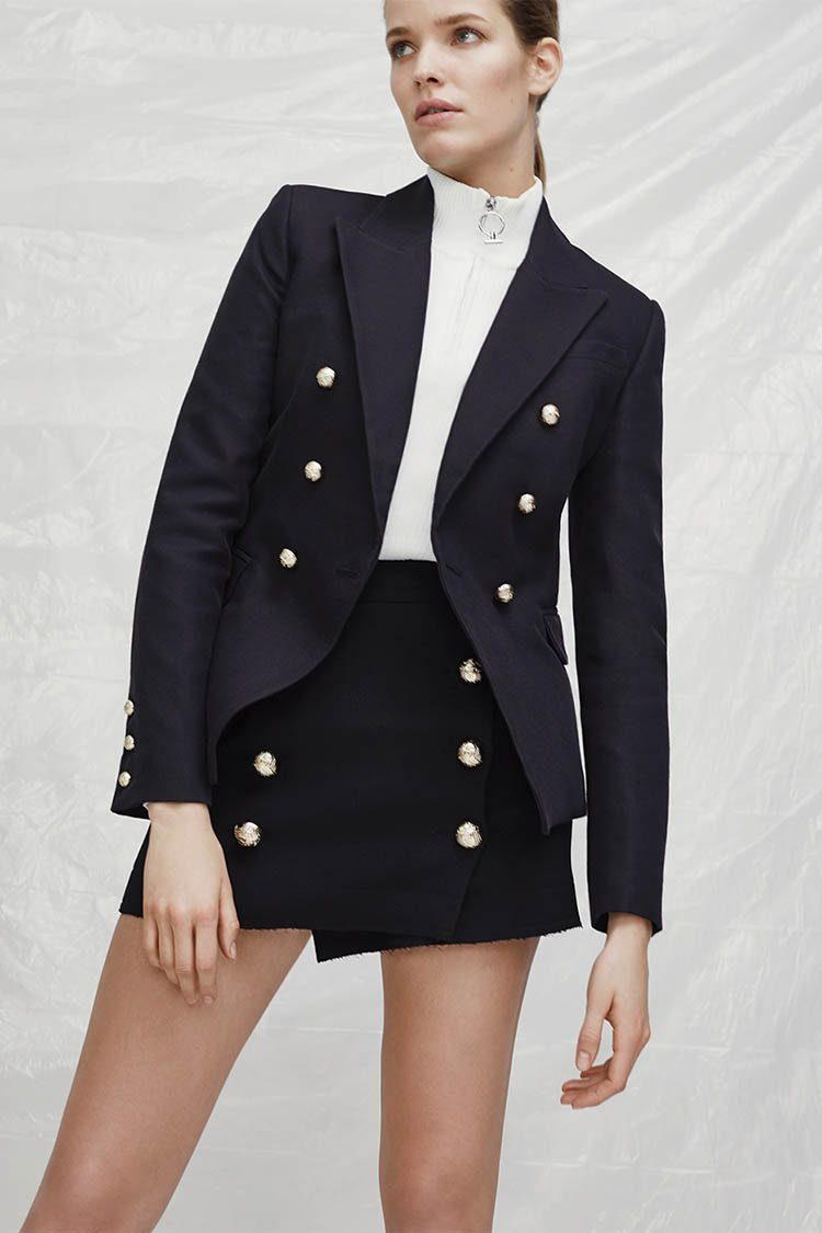 Dimmer Blazer in Black