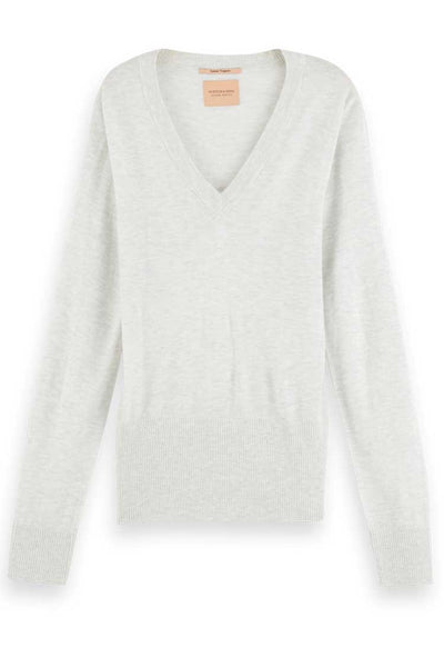 Lightweight Knit w Fitted Waist Tops Maison Scotch