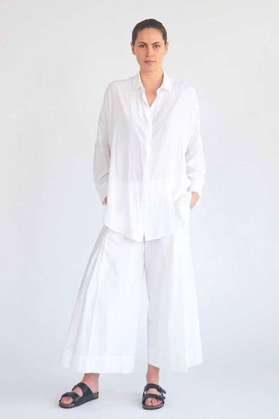 Limitless Shirt in White Tops Mela Purdie