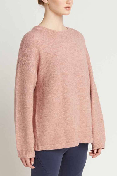 Luciella Crew in Dusty Pink Tops Milson
