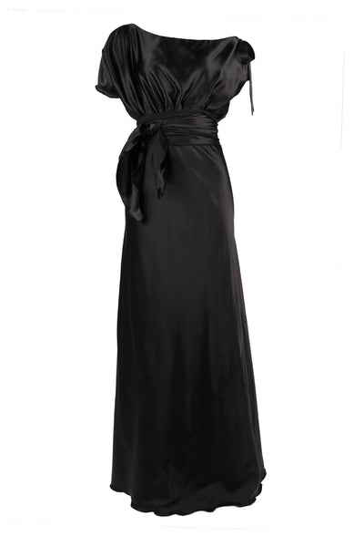 Serena Dress in Black Dresses Lucy Laurita - Leiela