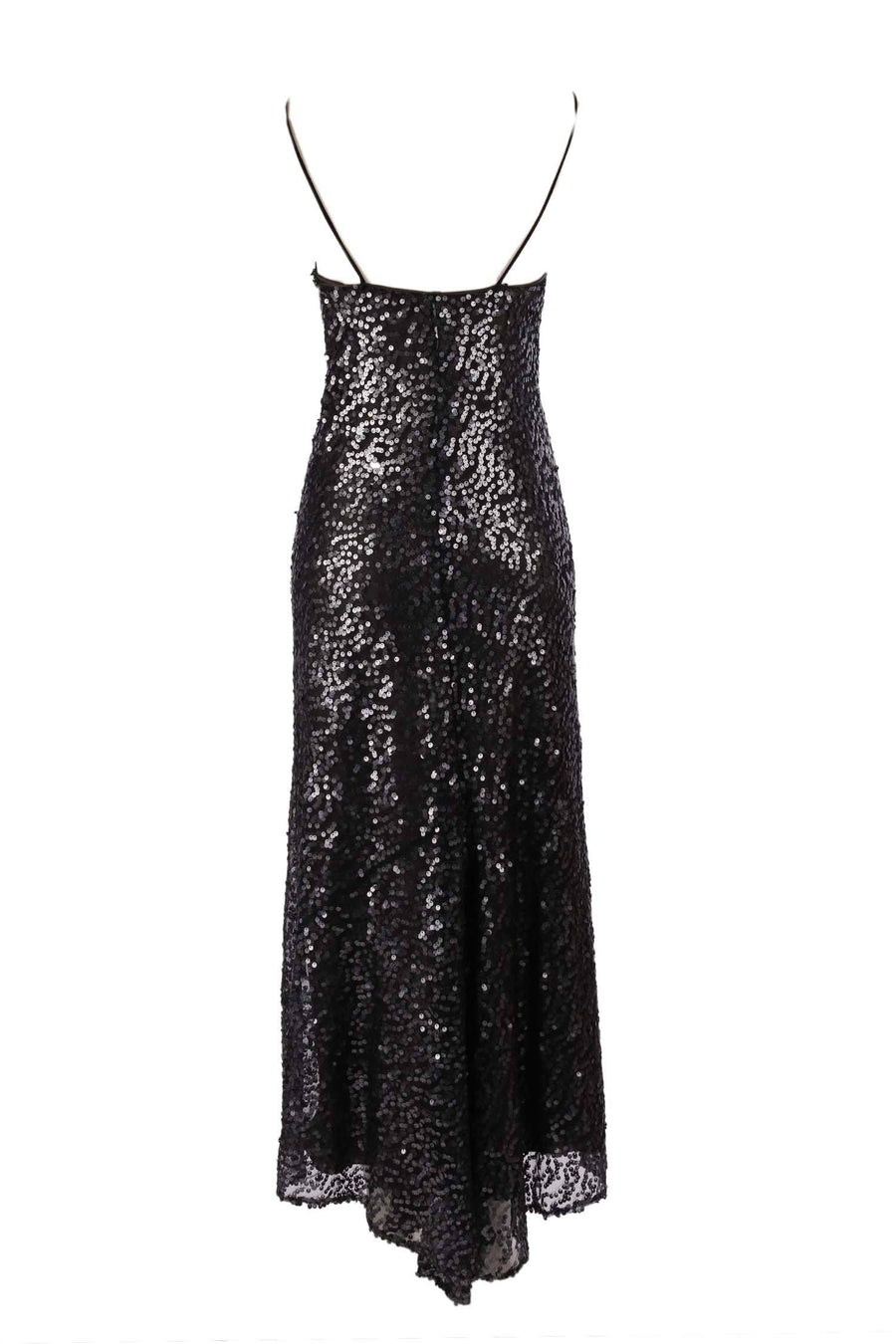 Shop Online Slip Sequin Dress with Belt by Lucy Laurita - Leiela  Frockaholics Dresses