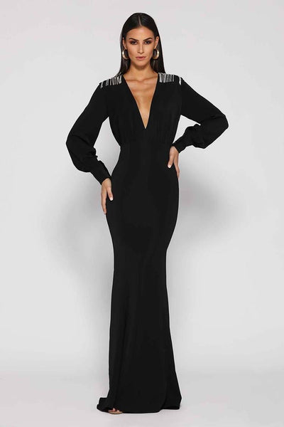 Lucy Gown in Black | FINAL SALE Dresses Elle Zeitoune