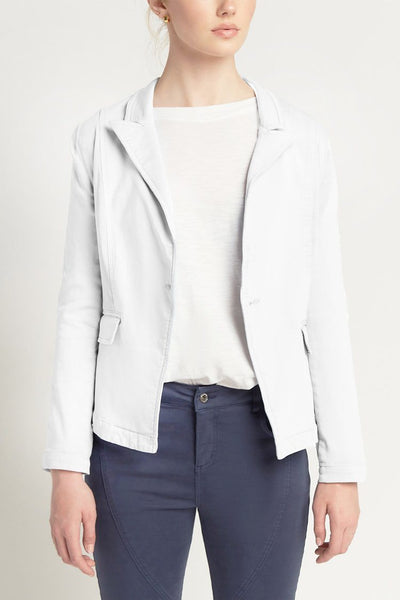 Brooklyn Jacket in White Jackets & Outerwear Milson