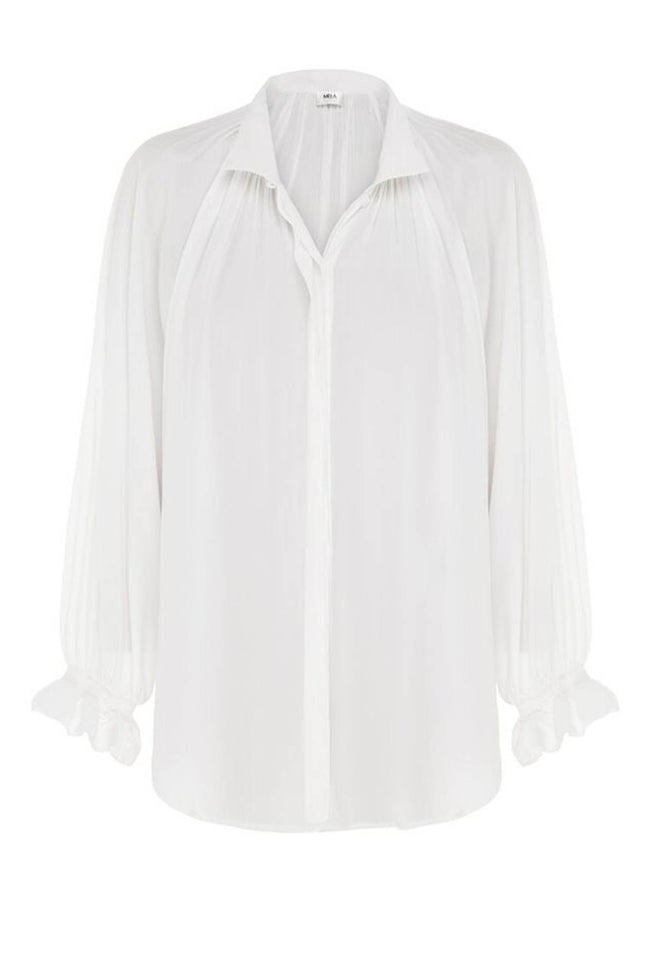Chateau Blouse in White