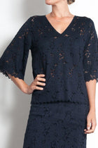 Fluted Spa T in Liberty Lace