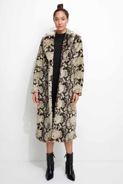 Madam Grace Coat Jackets & Outerwear Unreal Fur