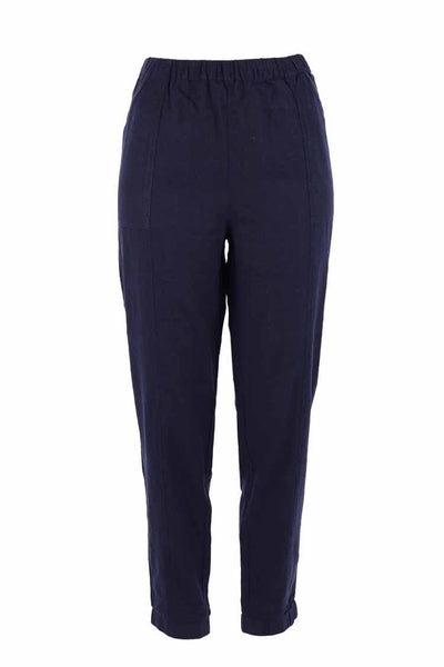 Maddison Pant in Navy Bottoms Milson