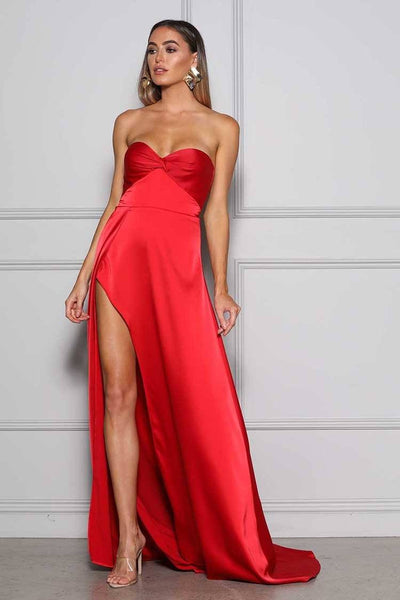 Magnolia Gown in Red Dresses Elle Zeitoune