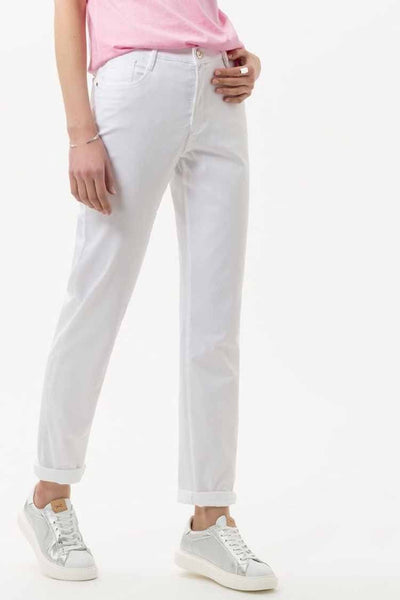 Mary City Sport Premium Trouser in white Bottoms Brax