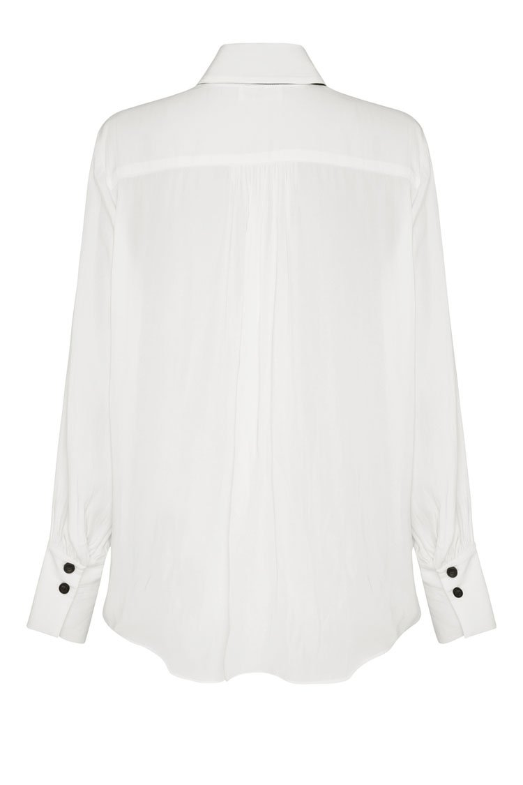 Moulin Blouse in Black/White