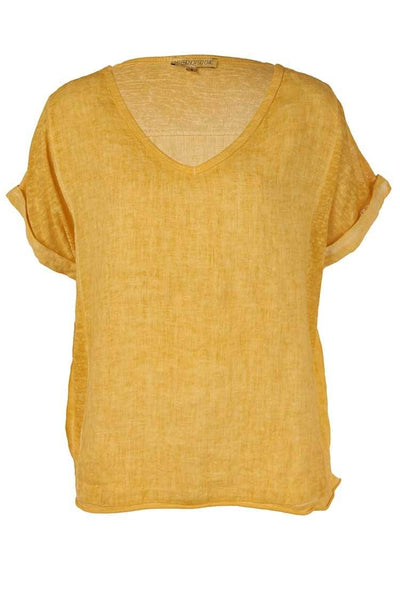 Mila Tee in Bamboo Tops So French So Chic