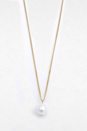 Clarity Baroque Pearl Necklace
